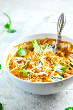 Shredded Chicken Chili Recipe                                                                                                                                                                                 More