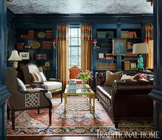 love the wallcovering on the ceiling