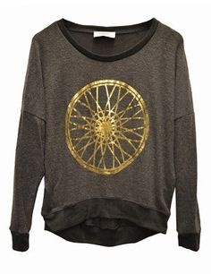 Hacci LS Pullover w/ Wheel by SoulCycle