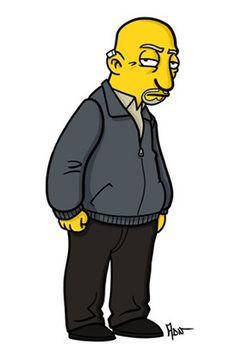Simpsonized Breaking Bad: Mike