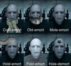 Voldemort is funny 23 Hilariously Clever Harry Potter Memes That Ev Humour Harry Potter, Harry Potter Facts, Harry Potter Fandom, Harry Potter World, Visual Puns, Harry Potter Pictures, Lord Voldemort, Harry Potter Voldemort, Funny Harry Potter