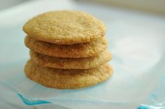Chewy Sugar Cookies #2 Recipe Desserts, Afternoon Tea with unsalted butter, granulated sugar, light brown sugar, vanilla extract, large eggs, all purpose unbleached flour, sea salt, baking soda, turbinado