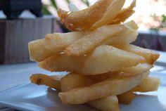 Receta de cocina: Papas fritas