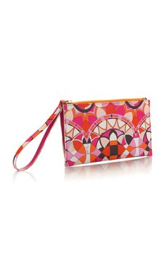 Printed Leather Pouch by EMILIO PUCCI for Preorder on Moda Operandi
