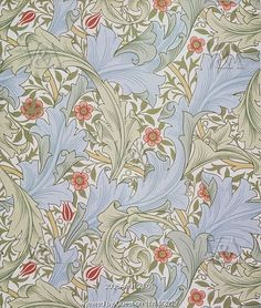 Granville wallpaper, by William Morris. England, 1896