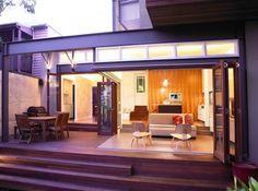 Sustainable architecture award for Rozelle terrace house | Designhunter - architecture & design blog