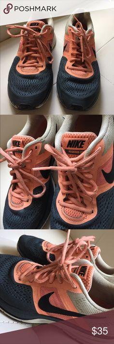 Nike Pegasus 30 Nike Pegasus 30. Size 8.5. Orange & grey. Gently worn, still look great. Nike Shoes Sneakers
