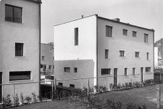 Adolf Loos Heinrich Kulka,Houses 49-52Werkbundsiedlung, Wien,1932 source:Werkbundsiedlung Wien