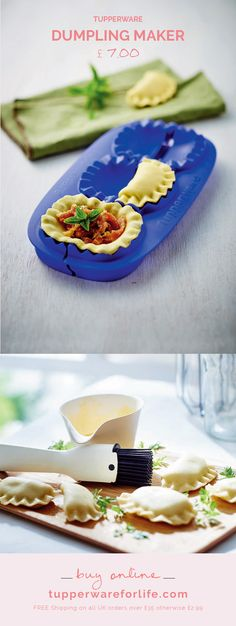 Foldable dumpling maker via Tupperware UK