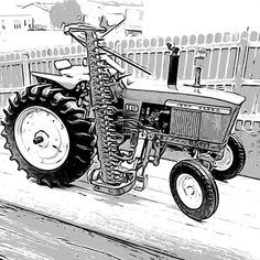 2510 Mower Toon