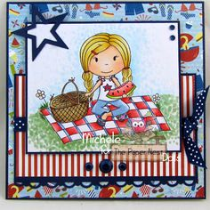magical Creative Inspiration by Michele Spera: Summer Release Blog hop for The Paper Nest Dolls