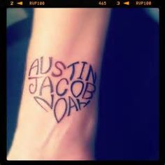 kids name Tattoos - Yahoo Image Search Results