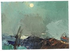 Sea and Sky - Joan Eardley