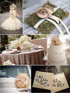 Champagne/Blush Wedding