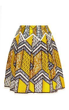 Mombasa Skirt by Lena Hoschek (original Julius Holland wax print)