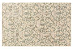Homer Rug, Ivory/Pigeon Gray on OneKingsLane.com $ 649 Guest Room