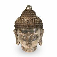Bronze Buddha Head Chrome - M