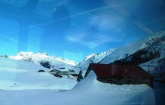 Swiss snow scenes from the Glacier Express   #rail #train #switzerland