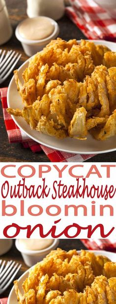 We love this Bloomin Onion Appetizer recipe served up with grilled ribs or chicken. You won't believe how easy this is to make!