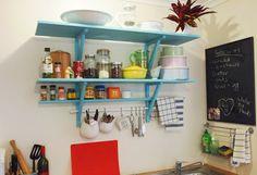 soluções para cozinhas sem armarios