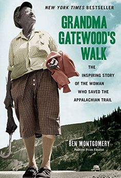 Audio Book: Grandma Gatewood's Walk: The Inspiring Story of the Woman Who Saved the Appalachian Trail – Boy, did I learn a lot and come to appreciate just how important this lady was and is to the hiking community. I was blown away by her tenacity and ongoing trail dedication for years after her first accomplishment on the Appalachian Trail.