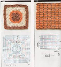 Szydełkomania: Themes für afghanische Teppiche oder Decken