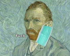 """Rules on Twitter: """"If you don't get this we can't be friends… """" Vincent Van Gogh Ear, Funny Art, Funny Memes, Funny Videos, Van Gogh Wallpaper, Van Gogh Quotes, Classical Art Memes, Art Jokes, Best Of Tumblr"""