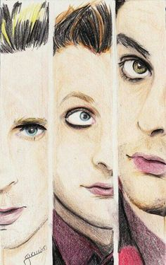 Awesome Sketch! Green day---I love the eyes!!!