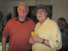 Freund Imre Borbath mit Emo