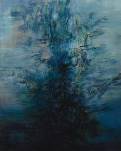 Zao Wou-Ki 5.5.60 oil on canvas abstract