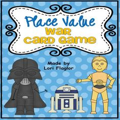 Help your children master the concepts of place value while playing this War style card game. It's a class favorite! #Place Value