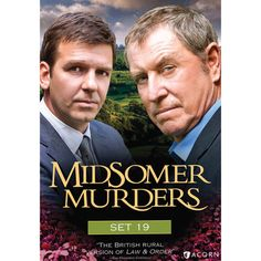 """Midsomer Murders Set 19 DVD  """"The British rural version of Law & Order """" - San Francisco Chronicle  The cozy villages of Midsomer County reveal their most sinister secrets in these contemporary British television mysteries. Inspired by the novels of Caroline Graham, modern master of the English village mystery, the series stars John Nettles (Bergerac ) as the unflappable Detective Chief Inspector Tom Barnaby, with Jason Hughes (This Life ) as his earnest, efficient protégé, Detective…"""