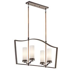 Chandelier Linear 4Lt OZ - Kichler