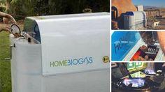 Máquina de biogás casera, recicla los desechos orgánicos