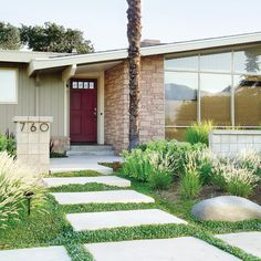 Embrace low-water creeping groundcovers and pavers