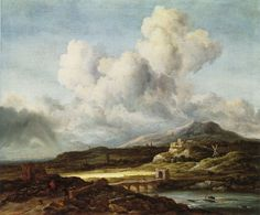 Jacob van Ruisdael - Le Coup de Soleil