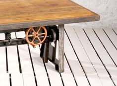 Decorate your restaurant or bar with our exquisite collection of furniture. Shop now for Retro Industrial Knoll Communal Table with Recyled Timber Top only at Crank Furniture. Modern Industrial Furniture, Drafting Desk, Restaurant Bar, Tables, Dining, Amp, Home Decor, Mesas, Food