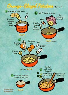 Orange-potatoes