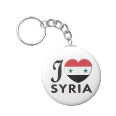 Shop Syria Love Keychain created by TenebraeDesign. Syria Flag, Love Keychain, Political Events, Custom Buttons, Spaceship, Airplane, Flags, Cool Designs, Create Yourself