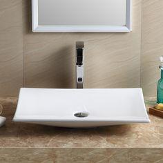 Modern Rectangular Bathroom Sink