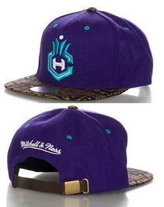 #FashionVault #mitchell and ness #Men #Accessories - Check this : MITCHELL AND NESS MENS Purple Accessories / Caps Snapback One Size for $9.95 USD