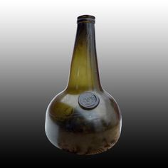 Antique Bottles Wine Bottles Sealed Squat