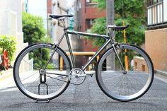 Silver & black AFFINITY CYCLES Lo Pro by Blue Lug, via Flickr
