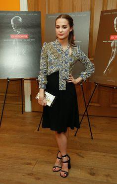 Alicia Vikander - 'Ex Machina' New York Premiere - April 6, 2015