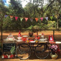 Tire proveito da estação mais florida do ano para celebrar o aniversário das crianças com uma festa no jardim.