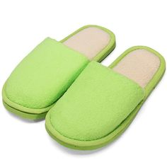 Pure Color Keep Warm Home Slippers - Gchoic.com