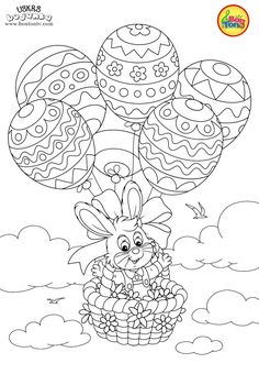 Easter coloring pages - Uskrs bojanke za djecu - Free printables, Easter bunny, eggs, chicks and more on BonTon TV - Coloring books Easter Colouring, Cat Coloring Page, Colouring Pages, Coloring Books, Easter Art, Easter Crafts, Free Printable Coloring Pages, Free Printables, Easter Bunny Pictures