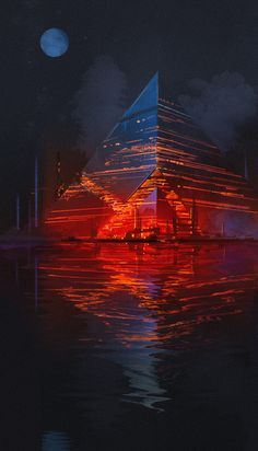 Pyramide / Olokosmon / Architektur / Osetsavoir / Nacht , Source by majajaga Our Reader Score[Total: 0 Average: Related photos:DekorationSubstrata Cover, Adrian Dadich auf ArtStation . Dark Fantasy Art, Sci Fi Fantasy, Cyberpunk Kunst, Sci Fi Kunst, Futuristic City, Futuristic Architecture, Sci Fi Stadt, Science Fiction Kunst, Arte Sci Fi