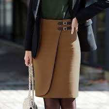 Resultado de imagen de faldas rectas