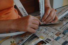 recycle newspapers